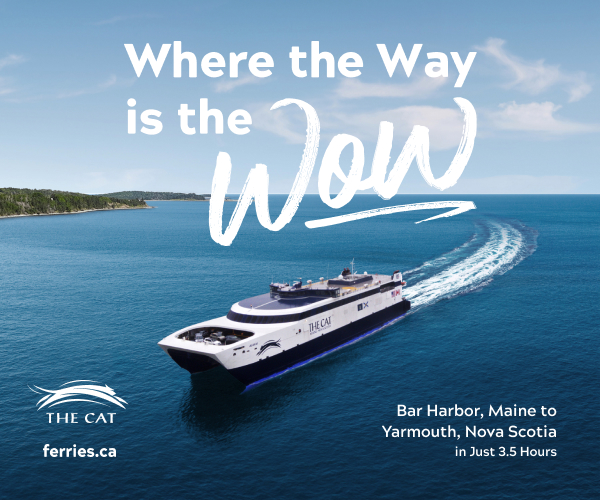 where the way is the wow the cat ferry digital ad