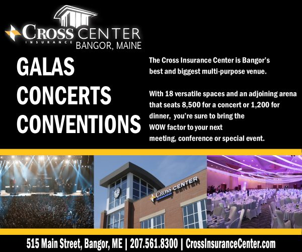 cross insurance center galas concerts conventions digital ad