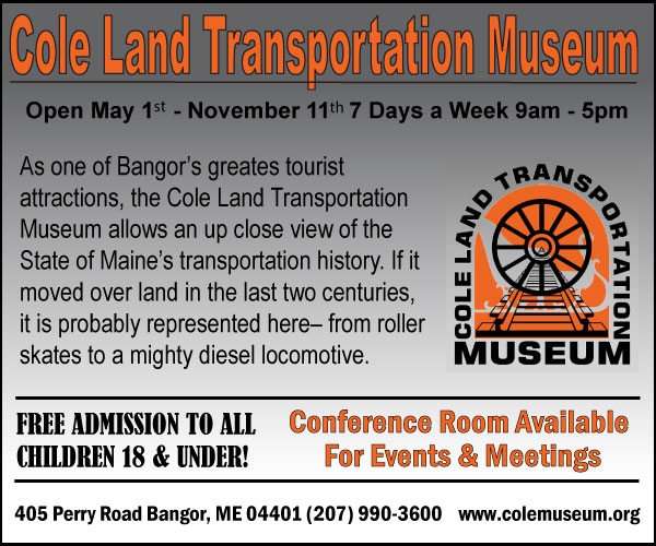cole land transportation museum digital ad