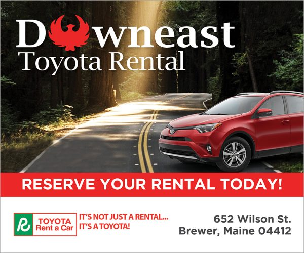 downeast toyota rental digital ad