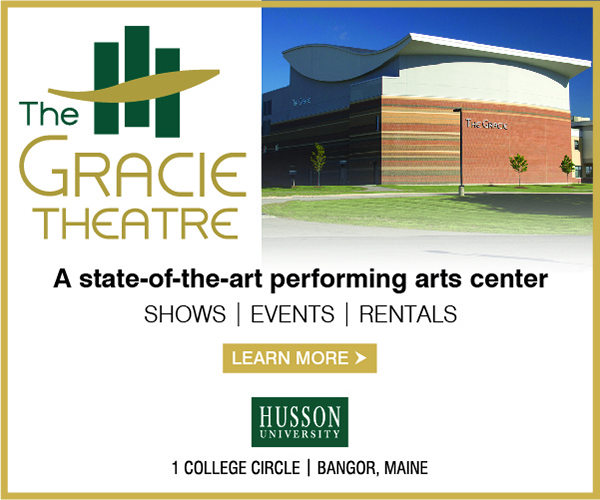 a state-of-the-art performing arts center the gracie theatre digital ad