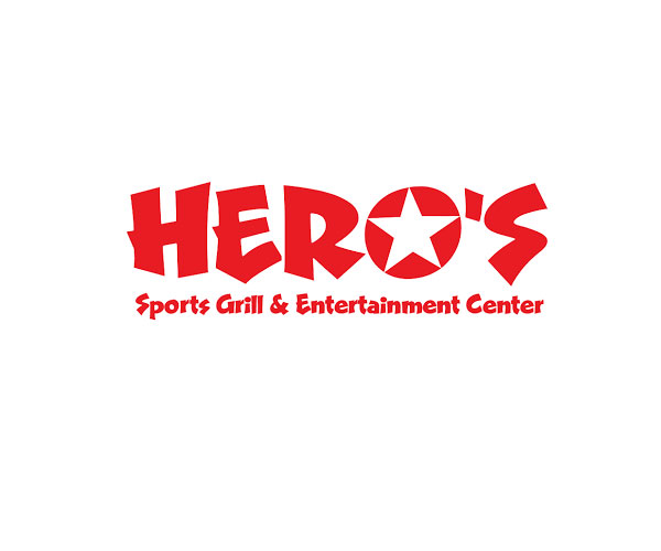 hero's sports grill and entertainment center logo