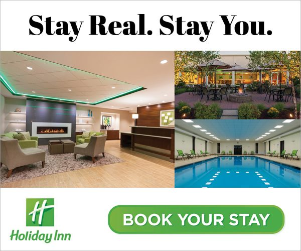 stay real stay you photos of lobby outdoor pavilion pool holiday inn digital ad
