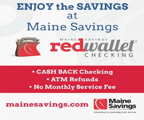 enjoy the savings at maine savings digital ad