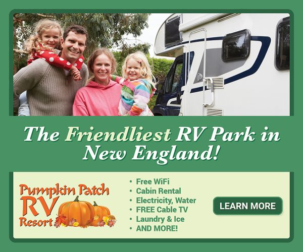 the friendliest rv park in new england pumpkin patch rv resort digital ad