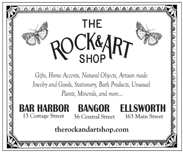 the rock and art shop gifts home accents natural objects artisan made jewelry and goods stationary bath products unusual plants minerals and more digital ad