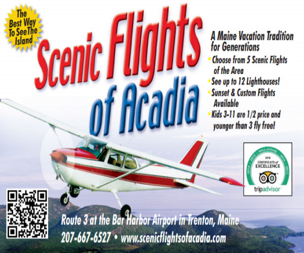 scenic flights of acadia digital ad