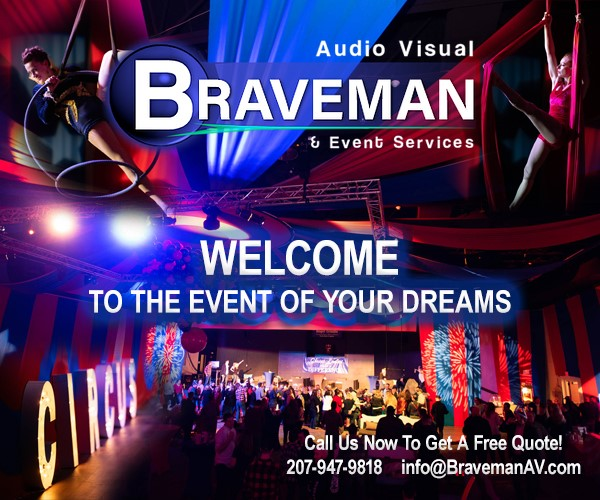 audio visual bravemen and event services welcome to the event of your dreams digital ad