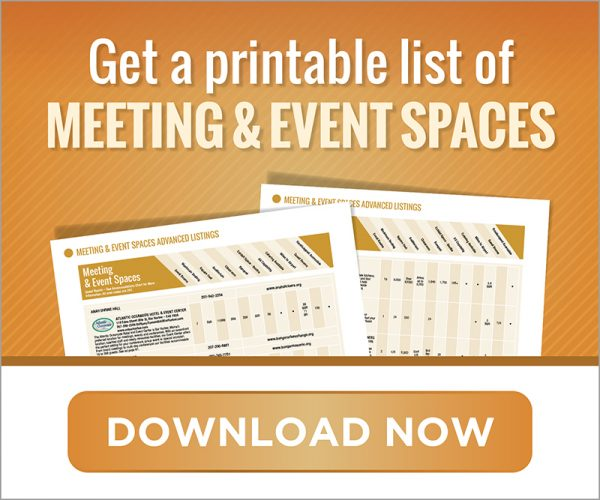 get a printable list of meeting & event spaces download now graphic