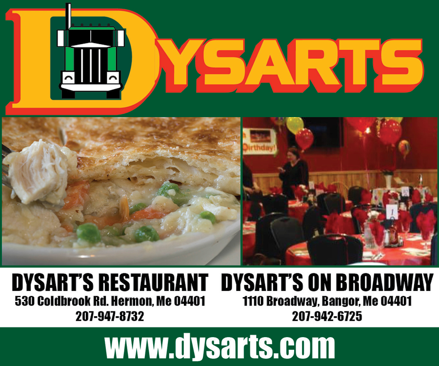 dysart's restaurant and dysart's on broadway digital ad